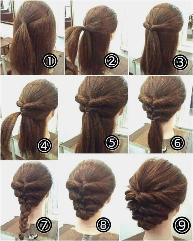 Easy Easy Hairstyles To Do At Home Einfache Frisuren Fur Haar Haarfarbe Hairst Hause Kurzes Easy Hairstyles Short Hair Styles Easy Long Hair Styles