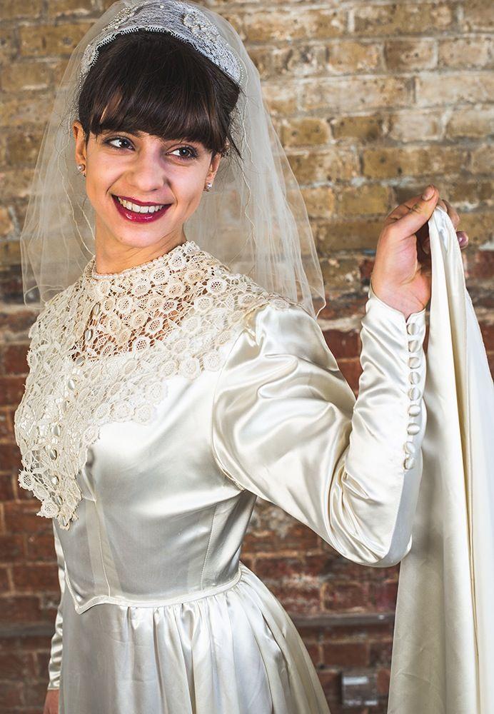148 best vintage wedding dresses images on Pinterest | Retro ...