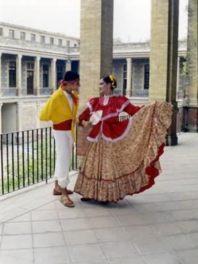 traditional dancers from Nayarit