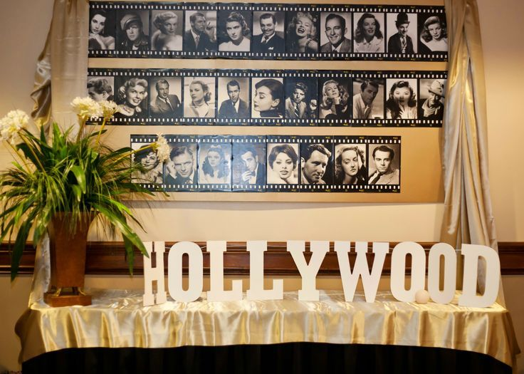 Vintage Hollywood Party | Old Hollywood Glamour Party - Lasting Impressions - TMCLARK