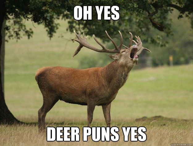 Oh yes Deer puns yes - Misc - quickmeme