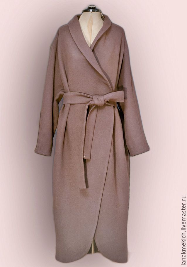 """Купить Пальто с поясом """"Английский стиль"""" look 2 в интернет магазине на Ярмарке Мастеров"""