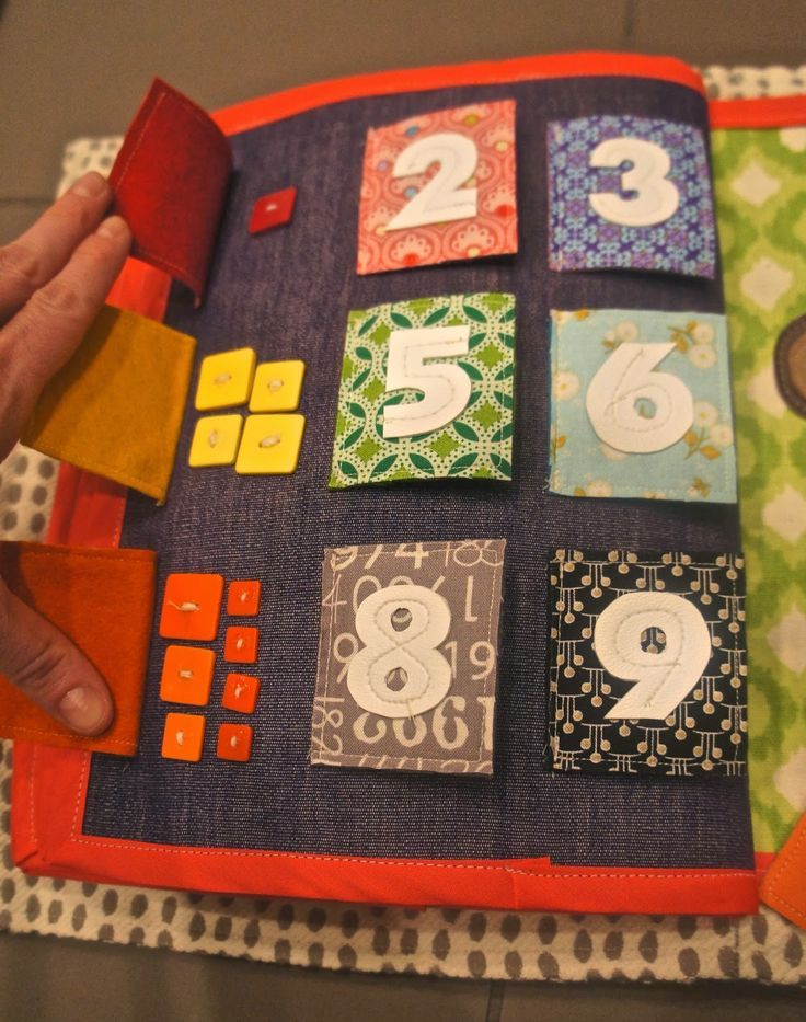 Counting Buttons Quiet Book Page Diy Quiet Books Felt Quiet Books Baby Quiet Book