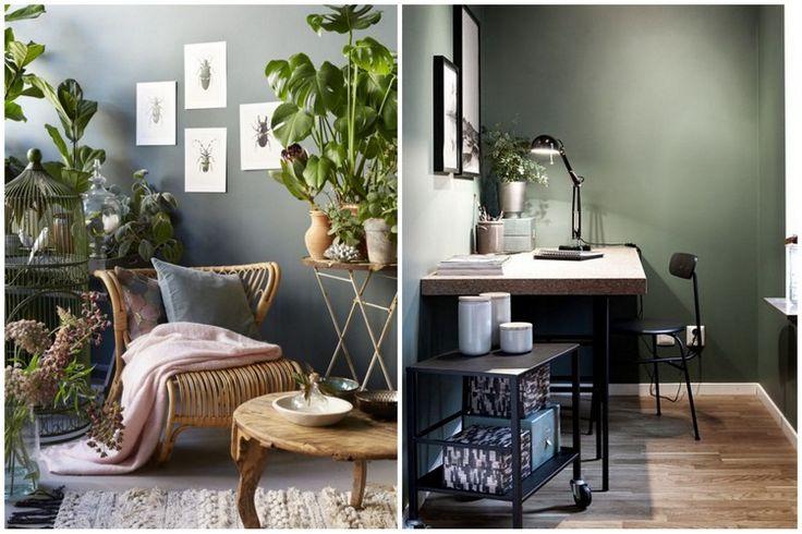 25 best mur kaki images on pinterest deco chambre chambres et placards chambre. Black Bedroom Furniture Sets. Home Design Ideas