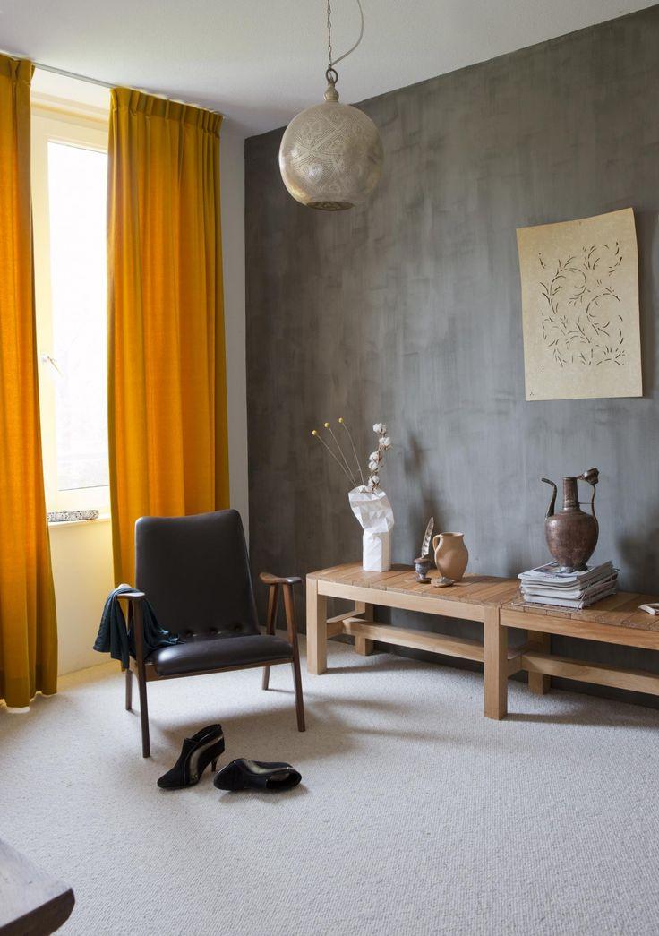 Picture this: een nieuwbouwhuis in Ede in de stijl van een herenhuis op een Veluws landgoed, met binnen een bohemien sfeer. Doorsnee kun je het niet noemen.