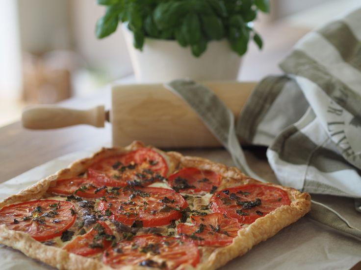 Enkel, delikat og kjempegod tomatterte