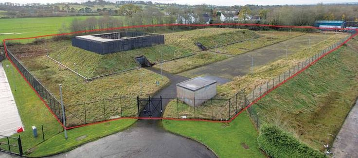 Northern Ireland Cold War Nuclear Bunker For Sale