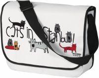 Geanta tip Postas, Cats in Istanbul, 40 x 34 cm E vară, vacanţă, soare, nisip, mareeee! Eşti pregătită pentru o vacanţă de vis? Nu uita cât de importante sunt trolerele, sacoşele, rucsacurile pentru următoarele zile! Intră pe Sharihome şi vezi cele mai interesante şi mai practice bagaje. #campaniisharihome http://sharihome.ro/campanie/tu-te-ai-pregatit-de-vacanta?c=&o=&l=&p=1
