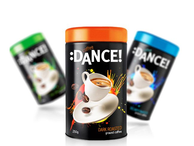 Coffee :Dance! on Packaging of the World - Creative Package Design Gallery