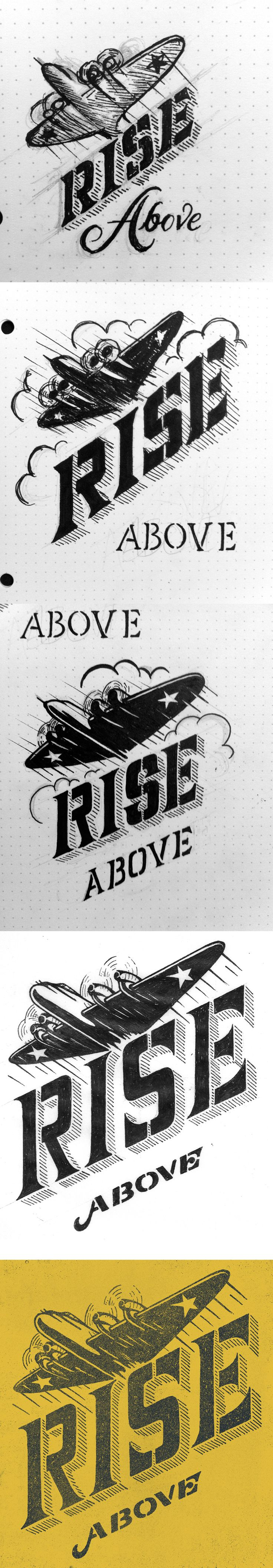 Drew Melton | Rise Above Process