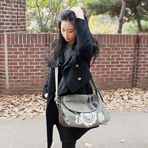 Korea Premium Bag Shopping Mall [COPI]  copi canvas no. K50175 / Price : 40.48USD #bag#canvasbag #Casual#Basicitem#CrossBag http://en.copi.co.kr/