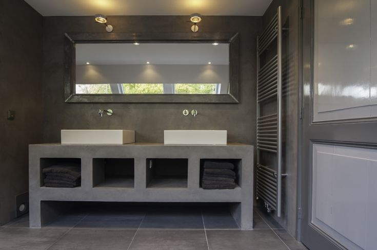 microcement badkamer -www.keylbetonstyle.nl - badkamer duurzaam, Badkamer