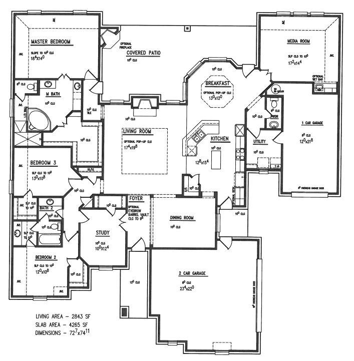 White eagle homes floor plans for Architectural plans holder