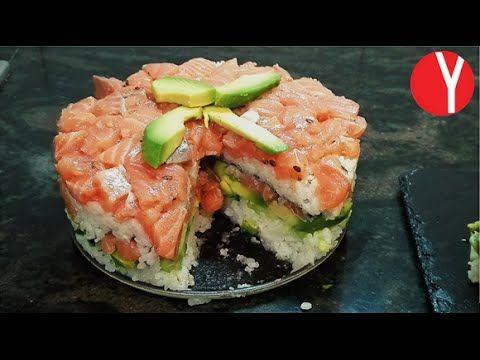 http://yocomo.tv/2016/05/pastel-de-sushi/ Si te gusta el sushi, y quieres presentarlo de una forma diferente, puedes hacer un pastel de sushi o sushi cake. É...