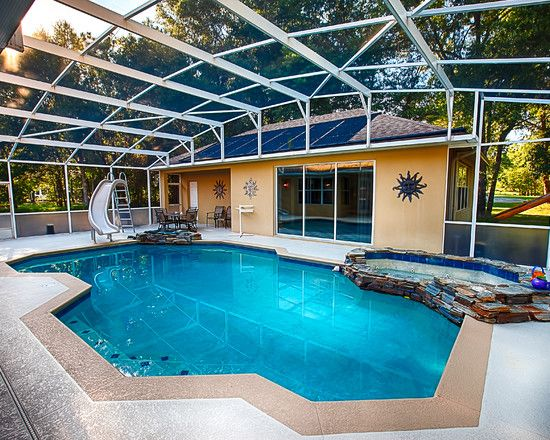 Elegant Pool Designs swimming pool in backyard of american country house Elegant Home Concept With Billiard Room And Indoor Swimming Pool Fascinating Orange Camp Road Home Outdoor Swimming Pool And Natural Style Soaking