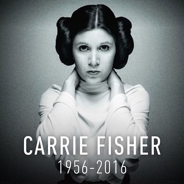 Carrie will be missed dearly. We her beloved fans, it's our duty to cary on her legacy! May the force be with you Carrie. You will never be forgotten.