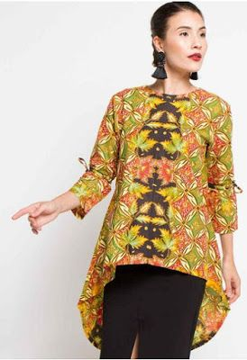 Trend Model Baju Batik Modern