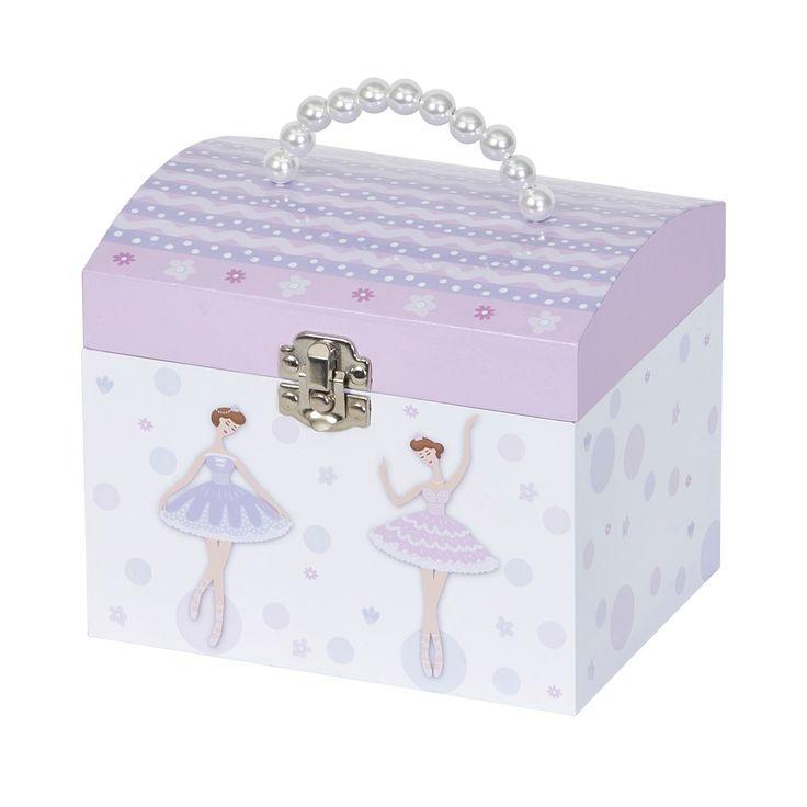 Mele & Co. Sylvie Girls' Musical Ballerina Jewelry Box - Pink