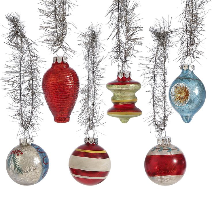 Christmas glass vintage