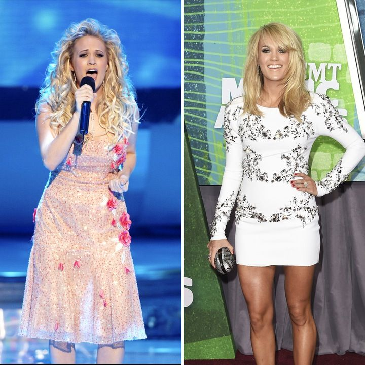 And hot carrie underwood upskirt on american idol dream
