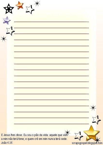 Seu blog para download papel de carta folha de caderno - Organizador de papeles ...