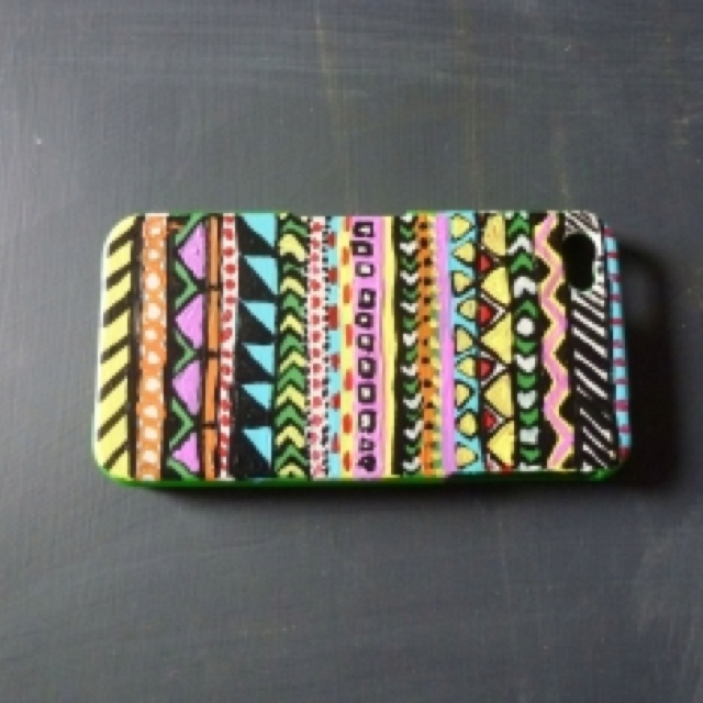 This is so cute!: Iphone Cases, Cell Phones Cases, Iphone 4S, Crafts Ideas, Hands Paintings, Cell Phone Cases, Diy Handpaint, Cell Phones Covers, Diy Phones Cases
