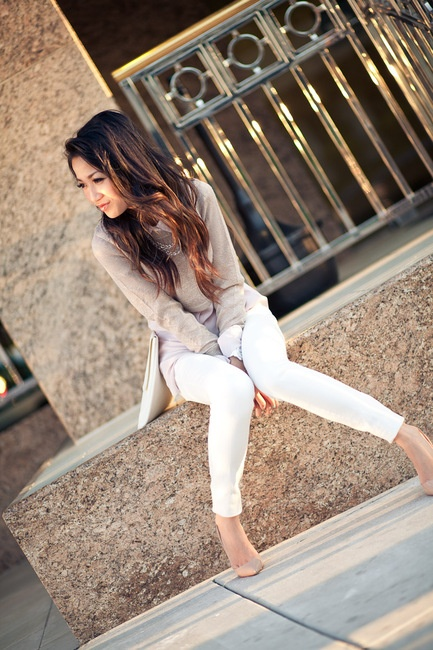 Style ...: Hair Colors, Style Inspiration, Spring Colors, Lavender Silk, Lilacs Love 4, Fashion Inspiration, Wendy Lookbook, White Jeans, Spring White