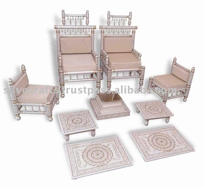Sankheda wedding mandap chair