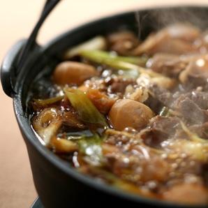 芋煮 Yamagata regional food imoni. We enjoy the party by river like BBQ with this food.