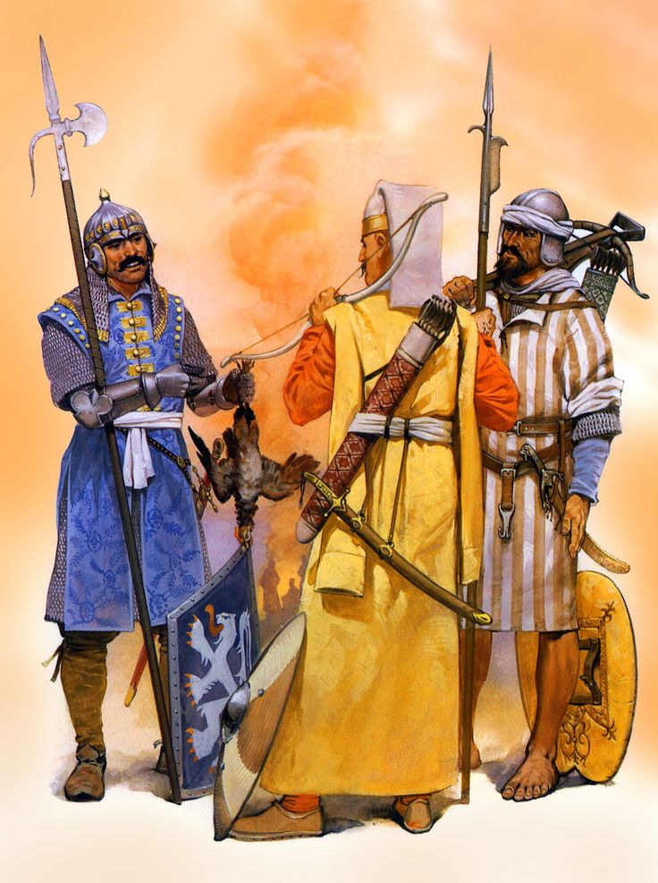 Ottoman Wallachian Voynik auxiliary with Janissary and North African marine