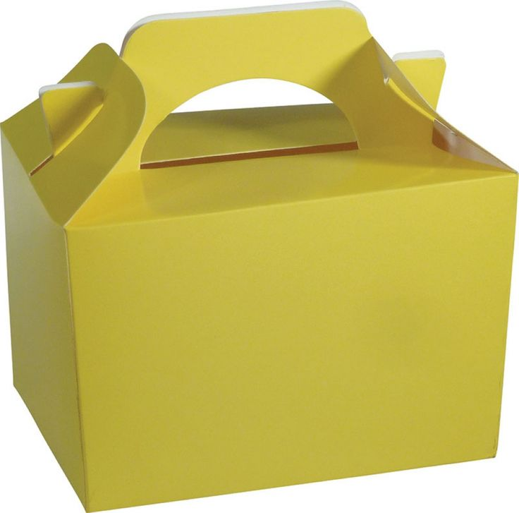 Yellow Party and Food Boxes