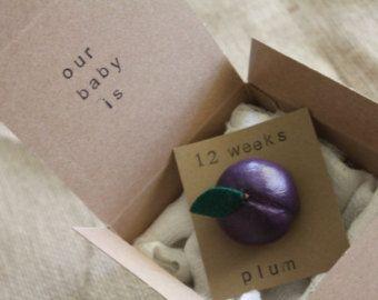 12 week Pregnancy Announcements, How Big Is My Baby, Gender Reveals, Baby Size