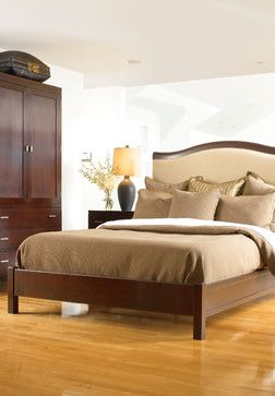 Chelsea Upholstered Bed By Stickley.