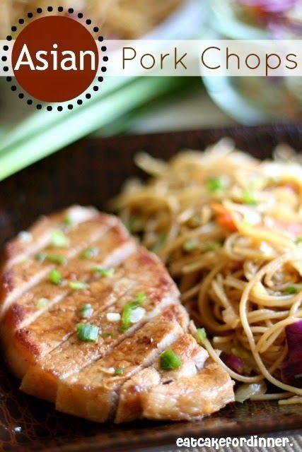 Eat Cake For Dinner: Asian Pork Chops