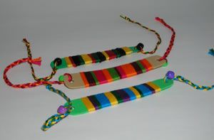 Jamaican rasta bracelets for BGMC craft
