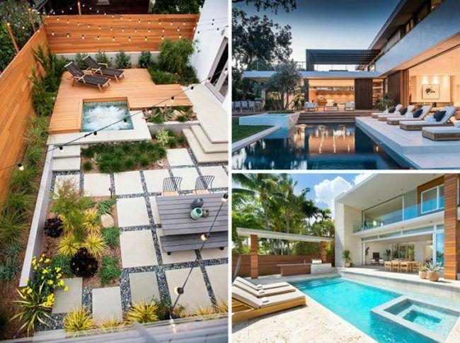 Moderne Terrassen