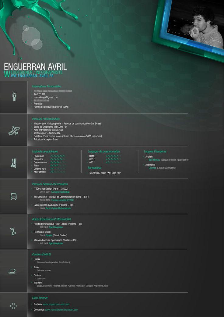 My New CV by ~Humadesign on deviantART