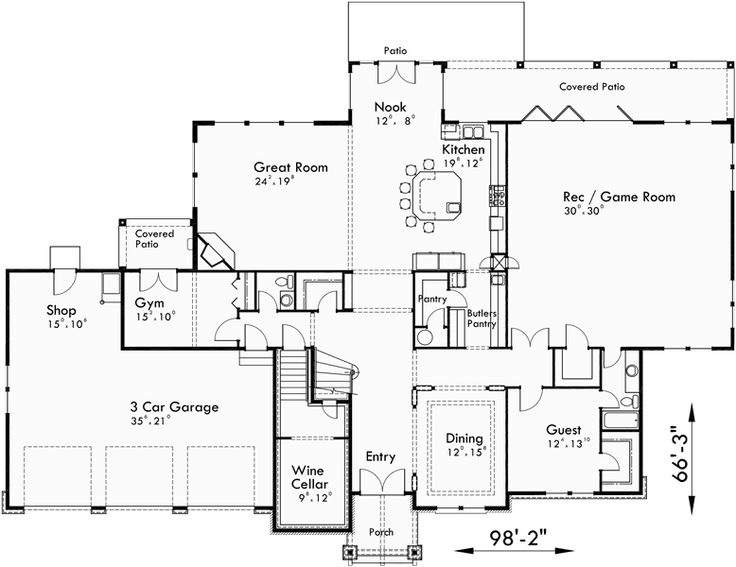 33 best House Plans by www.houseplans.pro images on Pinterest ...