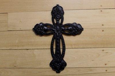 Black Cast Iron Cross