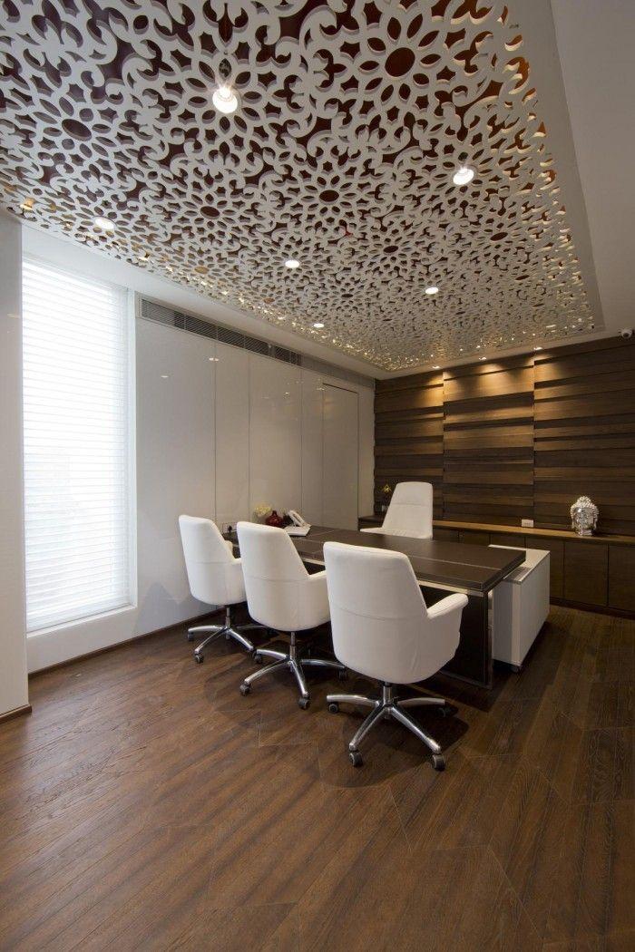 A Design Cosmos realizou o design dos novos escritórios da Tulip Infratech, uma empresa de desenvolvimento imobiliário, sediada em Gurgaon, Índia.