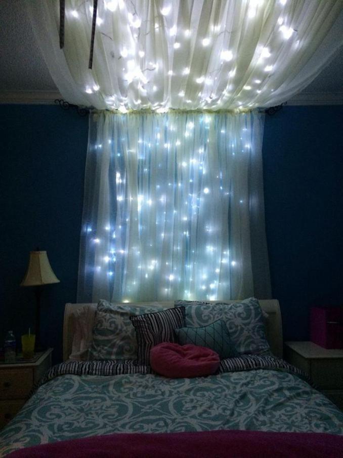 68 Christmas Lights In Bedroom Ideas Christmas Lights Christmas