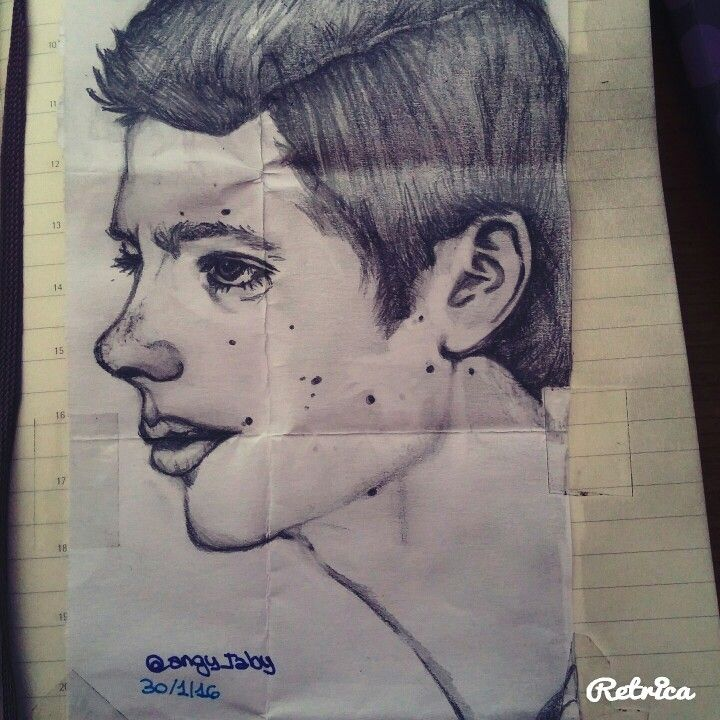 Dylan O'Brien :) Stiles Stilinski #drawing #illustration #teenwolf #stilesstilinski #dylanobrien
