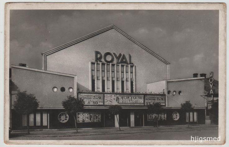 120. kép: A Royal mozi az Üllői úton. Egykoron ezen a helyen állt Bódy kőszínháza (ld. 2. kép). A húszas években több mozival is gazdagodott Kispest közönsége, ám a gazdasági világválság, kicsit megkésve ugyan, de 1932-33-ban valósággal berobbant a város életébe is. Az 1935-ös polgármesteri működési jelentés még arról tesz tanúbizonyságot, hogy ez év februárjában 2363 újabb munkanélkülit vettek nyilvántartásba, így összesen majdnem 6500 éhezőről kellett gondoskodniuk (ez a szám év végéig sem…