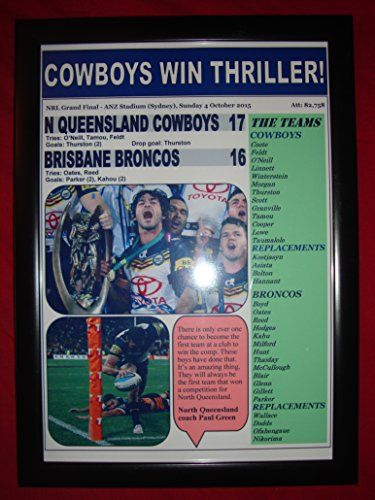 North Queensland Cowboys 17 Broncos 16 - 2015 NRL Grand Final - framed print Lilywhite Multimedia http://www.amazon.co.uk/dp/B016E4H9Q8/ref=cm_sw_r_pi_dp_Vscgwb14ERSP5