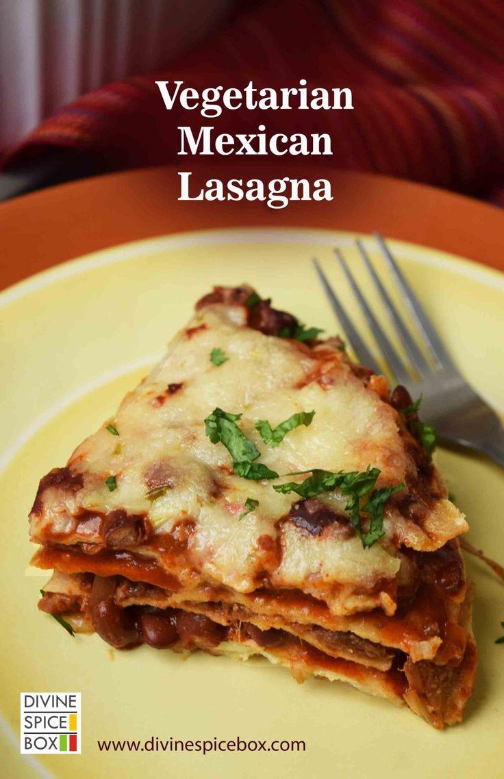 veg mex lasagna