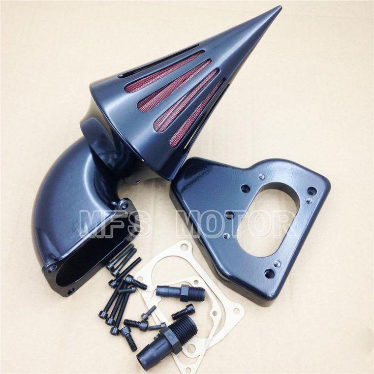 Motorcycle Accessories For Honda  Motorcycle 2002-2009 VTX 1800 R S C N F BLACK Motorcycle Spike Air Cleaner filter