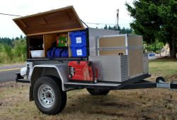 Ed & Lorraine's Home Built Camping Trailer