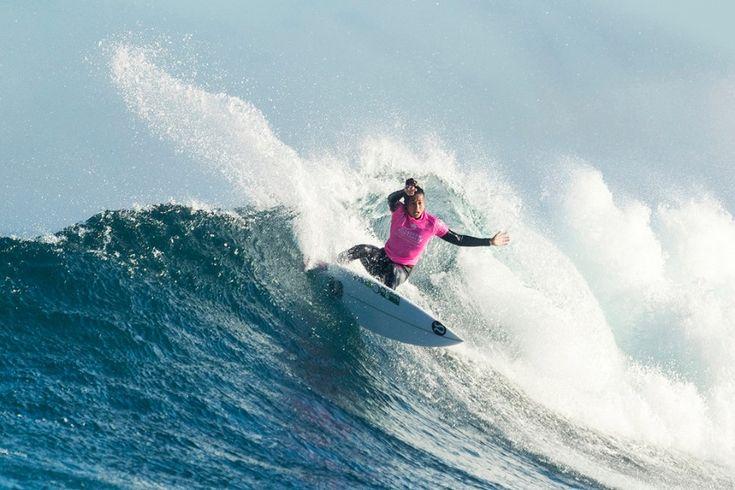 World Surf League: Day 5 of Women's Drug Aware Margaret River Pro, Malia Manuel (HAW) injured her knee on Round 4.