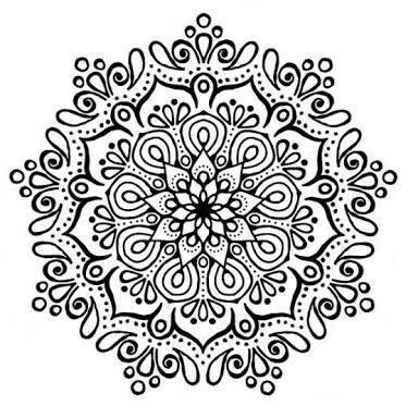 find this pin and more on zentangle by lovesagoodyarn cute mandala without color