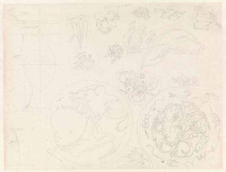 Theo Colenbrander | Ontwerpen voor aardewerk en aardewerk decoratie, Theo Colenbrander, 1920 |